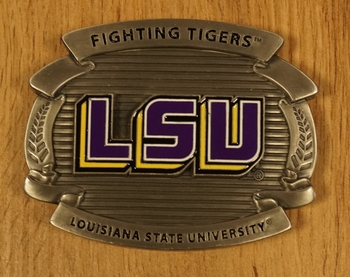 "Buckle "" Fighting tigers Louisiana state university """