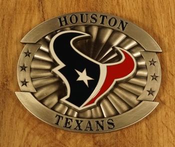 "American Football buckle "" Houston Texas """