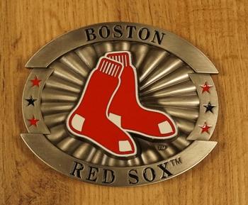 "American Football buckle "" Boston Red Sock """