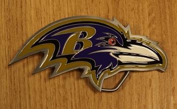 "American Football buckle "" Balltimore Ravens """