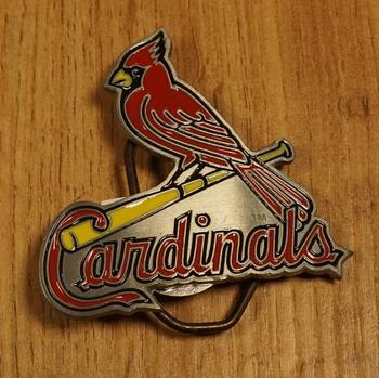 "American Football buckle "" Cardinals """