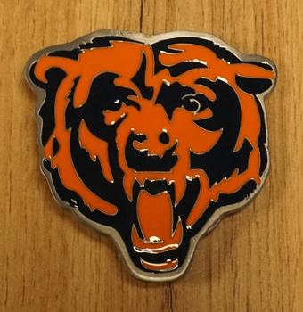 "American Football buckle "" Chicago Bears """