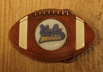 "American Football buckle "" Football Ucla Bruins """
