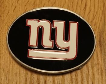 """American Football buckle """" New York Giants """""""