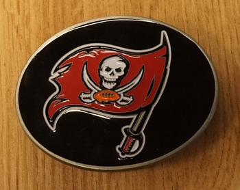 "American Football buckle "" Tampa Bay Buccaneers """