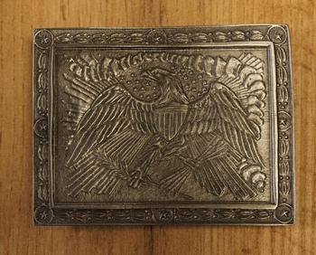 """Belt buckle  """" Eagle officers """""""