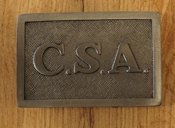 """Belt buckle  """" C.S.A. Enlisted """""""