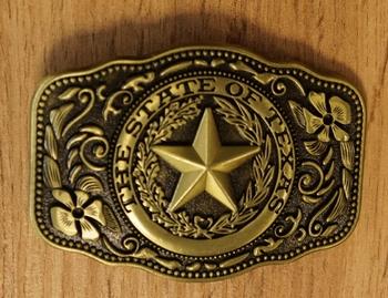 """Belt buckle  """"  Texas Ranger """""""