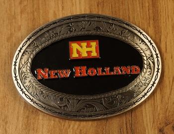 """Belt buckle  """" New Holland """""""