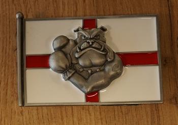 """Buckle  """" Basher Bulldog """"  England"""