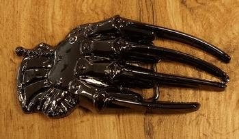 """Belt buckle """" Roboterhand """""""