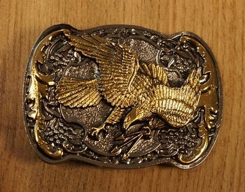 "Belt Buckle  "" Fliegender Adler  """