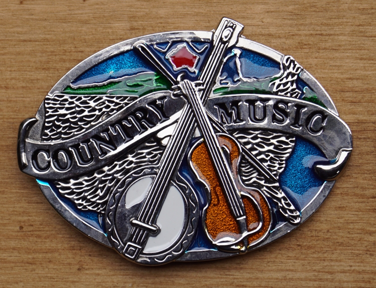 """Belt Buckle  """" Country music """""""