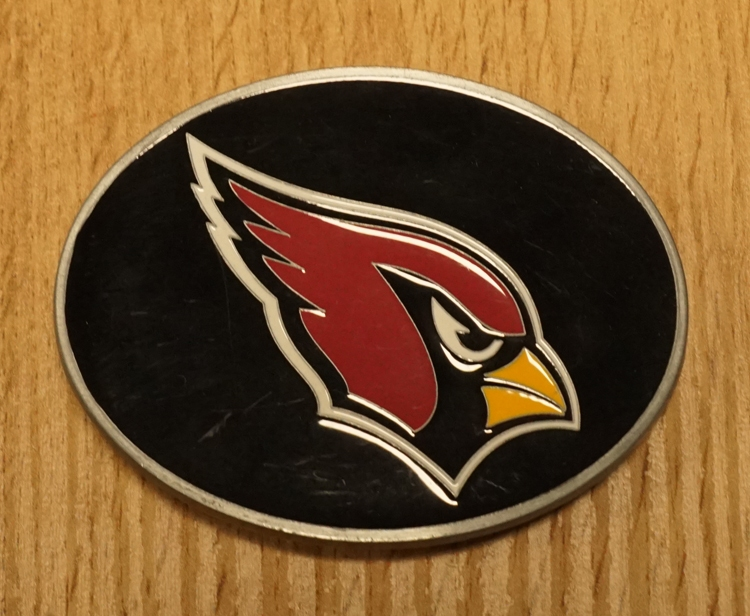 "American Football buckle "" Arizona Cardinals """