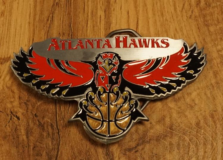 "American Football buckle "" Atlanta Hawks """