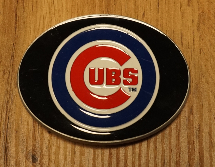 """American Football buckle """" Chicago Cubs """""""