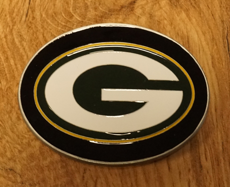 "American Football buckle "" Green Bay Packers """