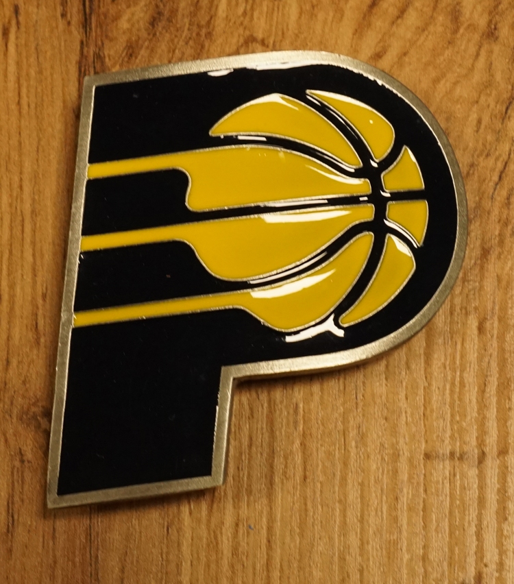 """American Football buckle """" Indiana Pacers """""""