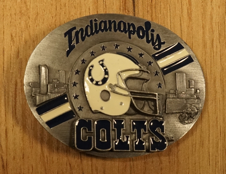 "American Football buckle "" Indianapolis Colts """