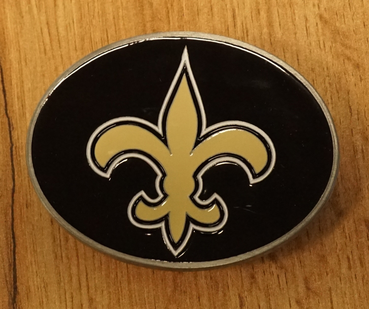 """American Football buckle """" New Orleans """""""
