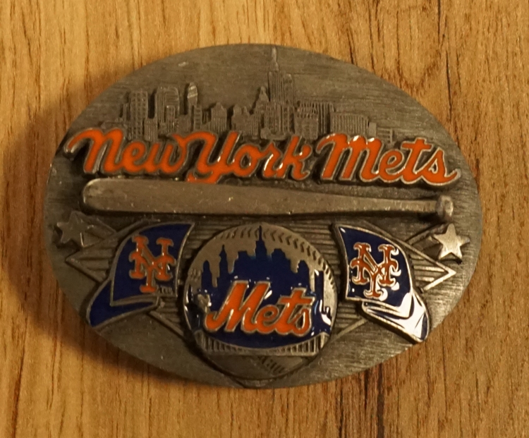 """American Football buckle """" New York Mets """""""