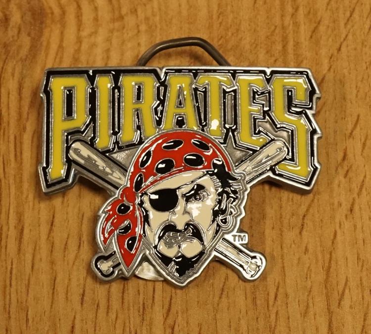 "American Football buckle "" Pittsburgh Pirates """