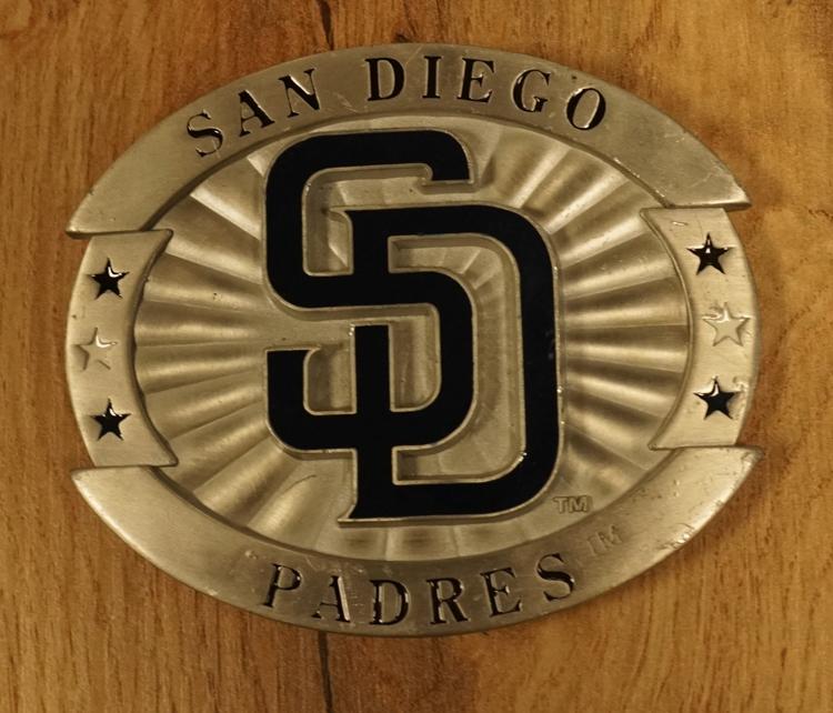 "American Football buckle "" San Diego Padres """