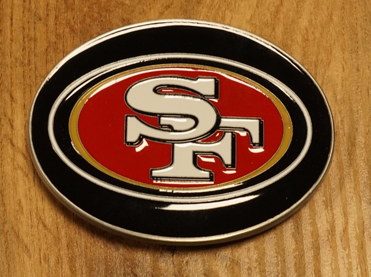 "American Football buckle "" San Francisco """