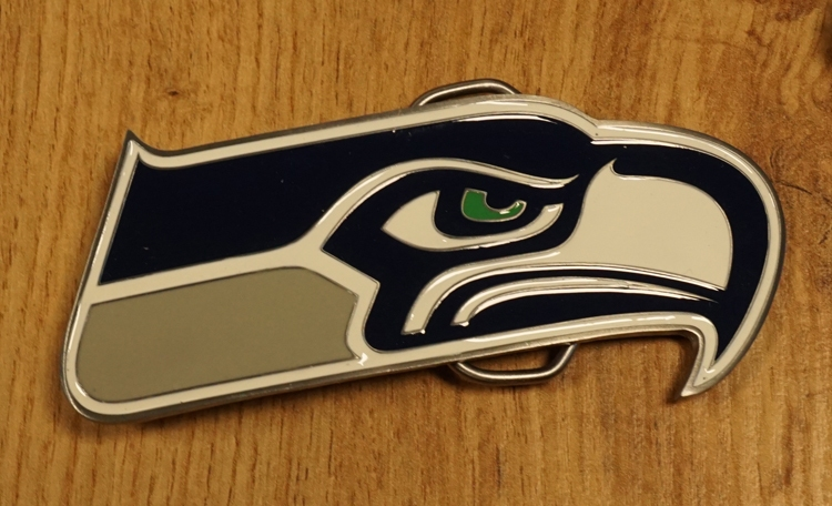 "American Football buckle "" Seattle Seahawks """