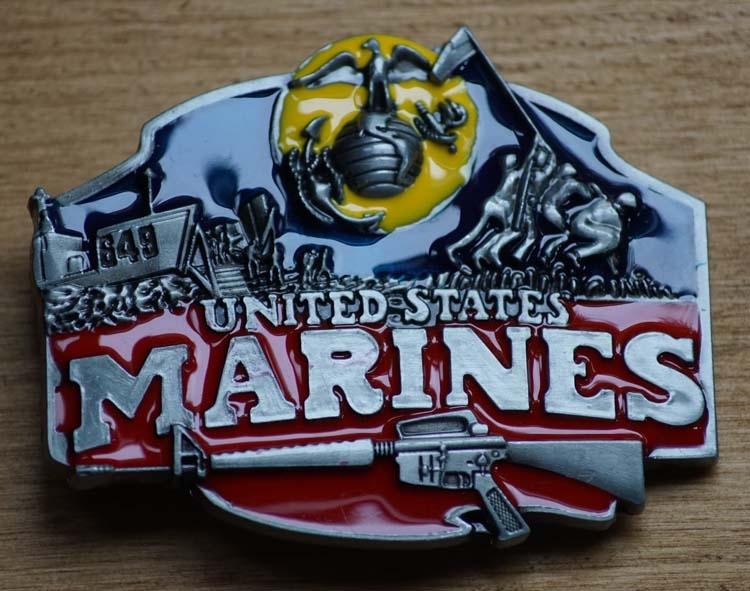 """Austauschbare Schnalle  """"  United States Marines """""""