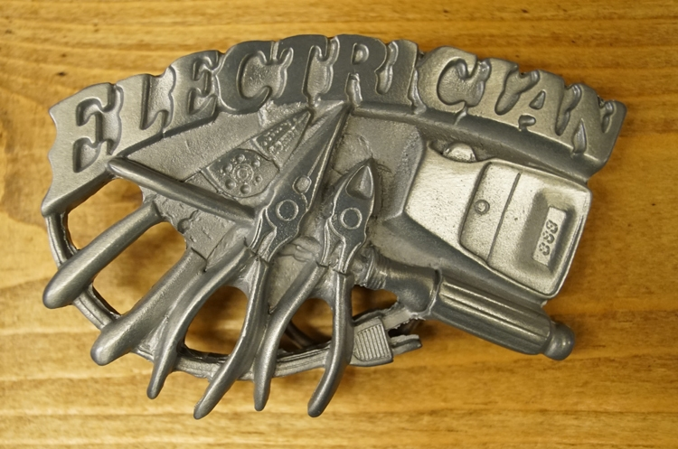 "Austauschbare Schnalle "" Electrician """