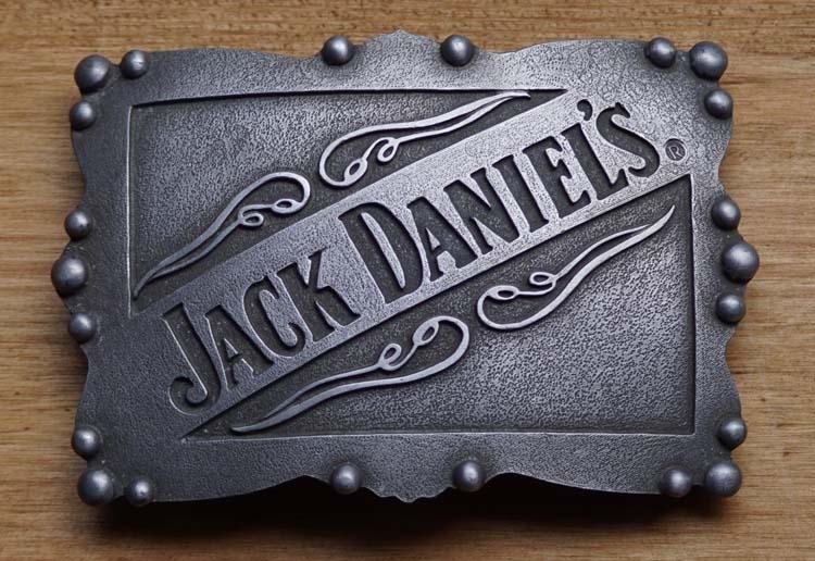 "Austauschbare Schnalle  ""Jack Daniels wisky """