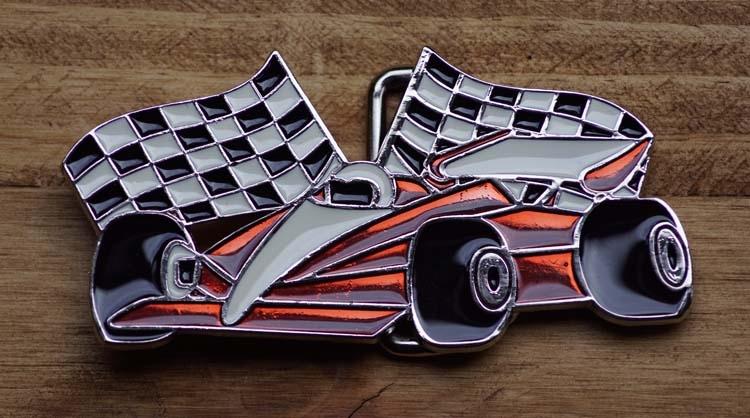 """Autos Schnalle  """" Racing car """""""