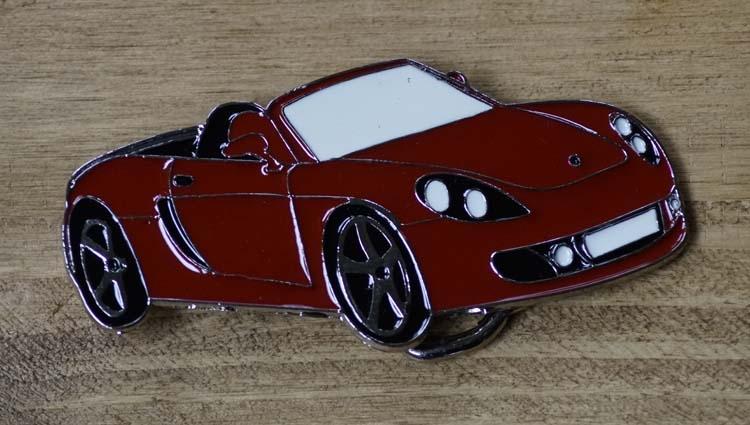 """Autos Schnalle  """" Sportwagen """"  Rot"""