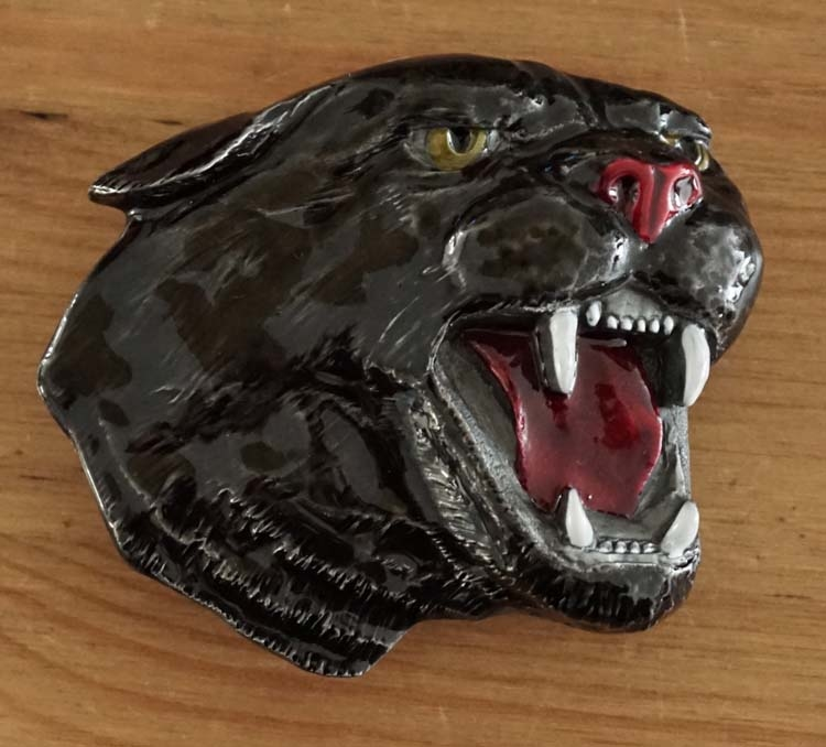 """Belt  buckle  """" Panther """""""