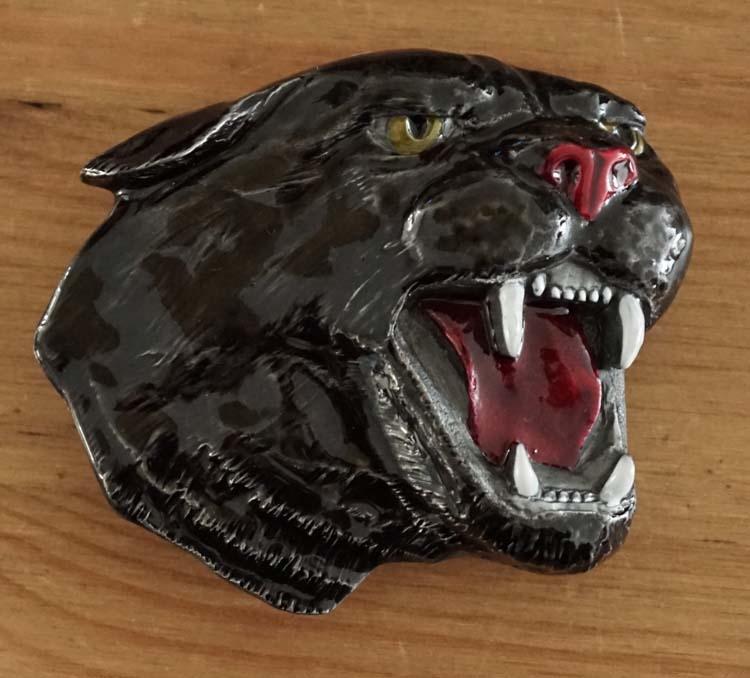 """Belt  buckle  """" Panther """"   AUSVERKAUFT"""