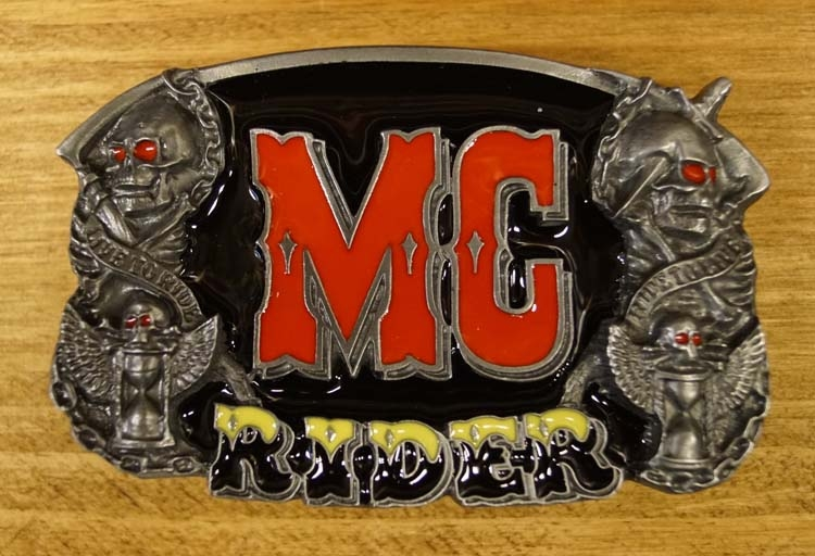 "Belt buckle   "" Mc Rider  """