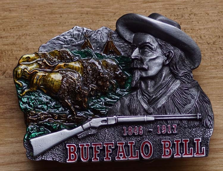 "Belt buckle  "" Buffalo Bill """