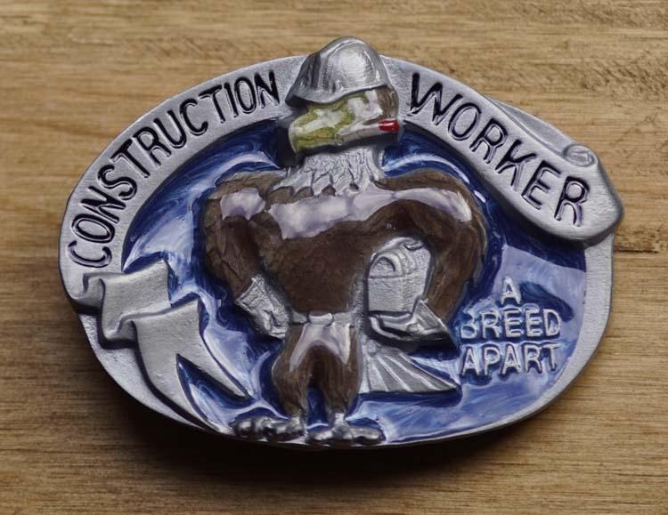 """Belt buckle  """" Construction worker """"  (Konstrukteur)"""