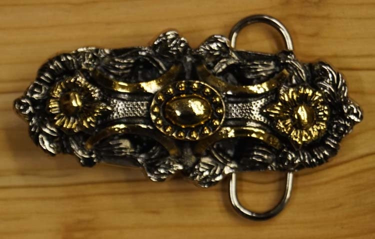 "Belt buckle  "" Flower design """