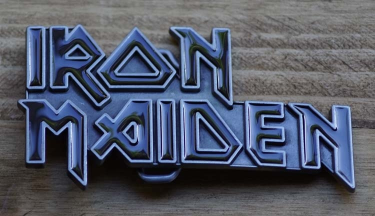 "Belt buckle  "" Iron Maiden ""   AUSVERKAUFT"