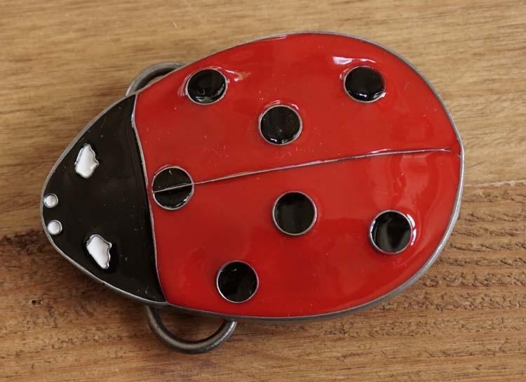 "Belt buckle  "" Marienkäfer """