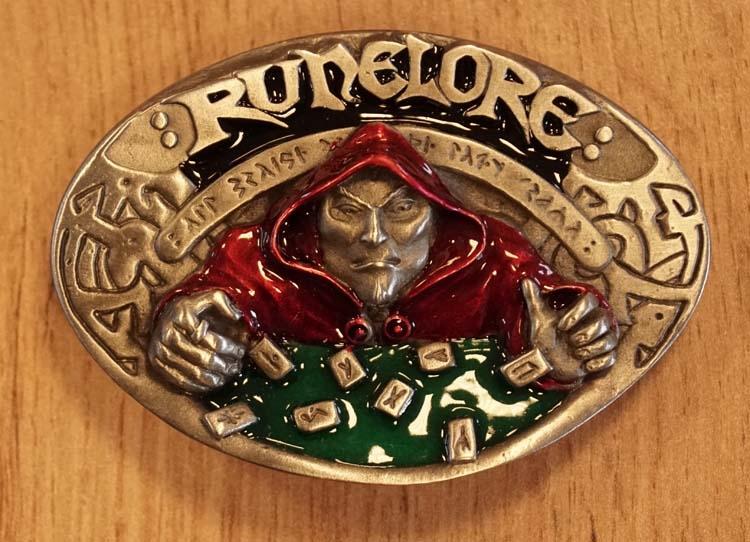 "Belt buckle  "" Runelore """