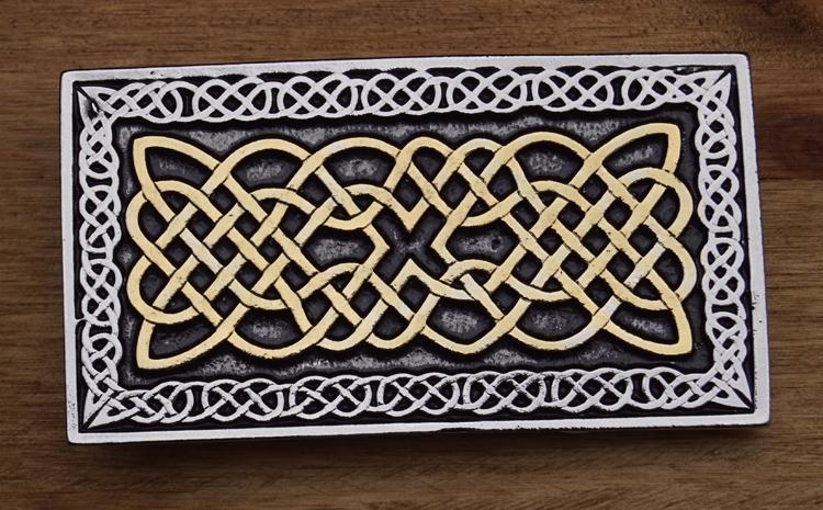 "Buckle  ""  Celtic knot """