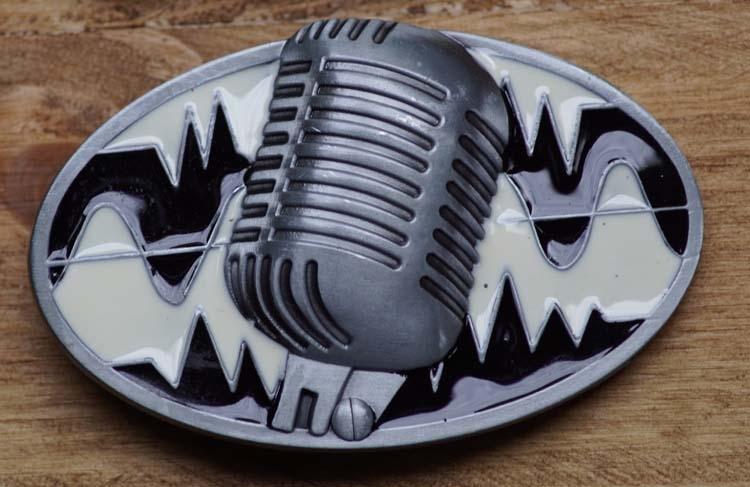 "Buckle   "" Mikrofon """