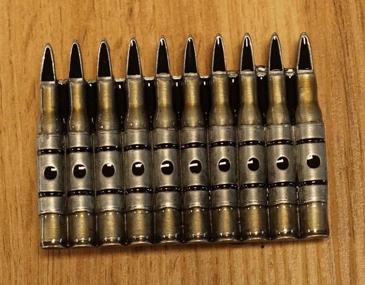 """Buckle   """" Munition / Kugeln """""""
