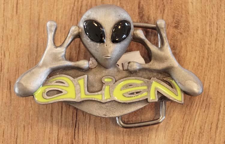 "Buckle  "" Alien """