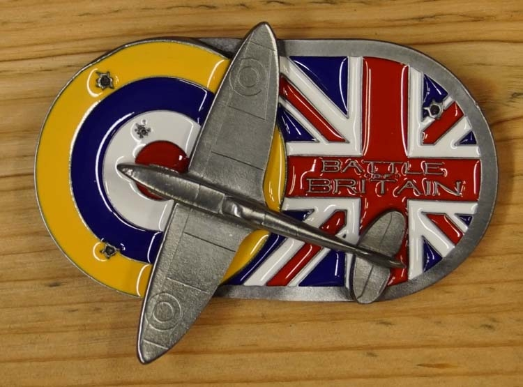 """Buckle  """" Battle of Britain """"  Die Slacht von England"""