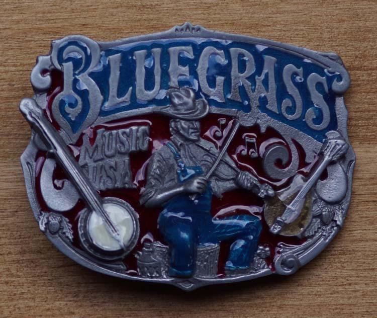 """Buckle  """" Blue grass music  USA """""""