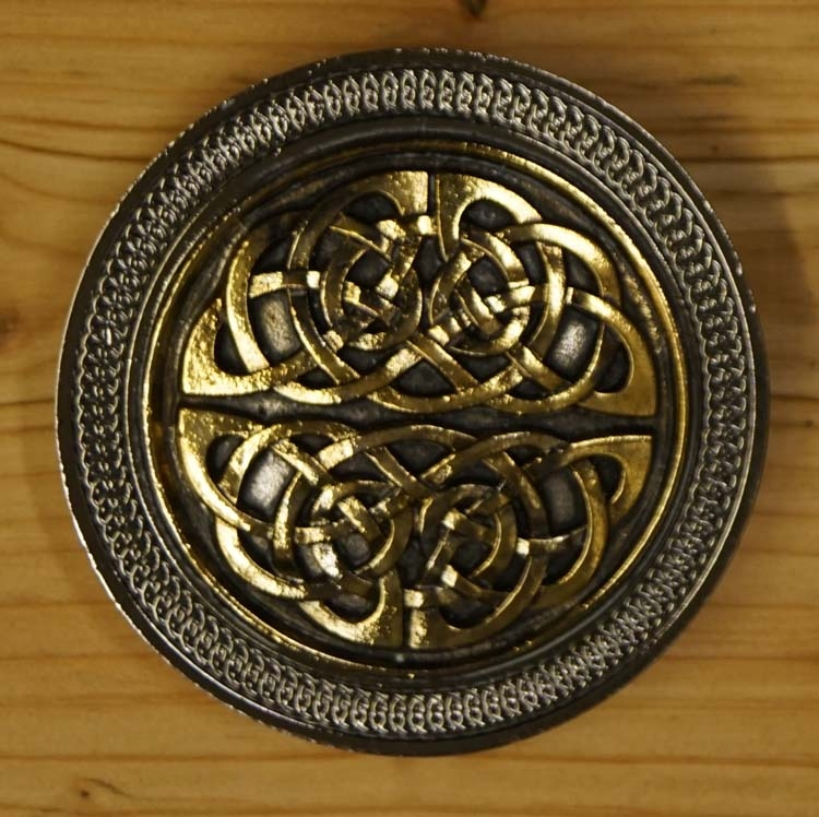 """Buckle  """" Celtic knot in two part """""""